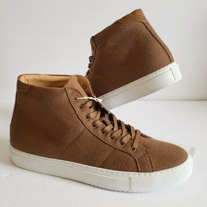 GREATS The Royale Suede High Top Sneakers
